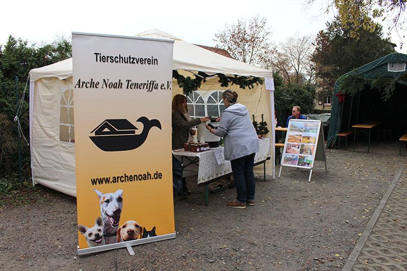 Arche Noah beim Weihnachtsbazar 2018 in Bensheim-Auerbach