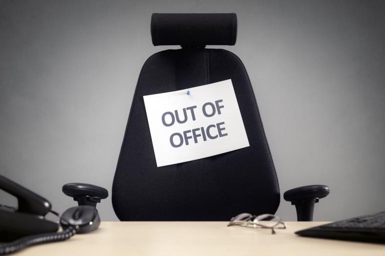Unser Büro ist im Mai nicht besetzt